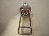 auto lock slider for No.5 polyester zipper